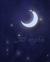 振り子のように揺れる月と、キラキラふわふわ舞い上がるダストがあらわれます。設定した日までの日数カウントダウンを表示できます。