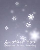 雪が3次元で降り注ぎます。マウスで見る方向を変えることができます。